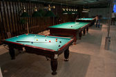 American billiards and pool — Stock Photo