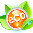ecology icon — Stock Photo