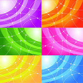 Abstract backgrounds — 图库照片