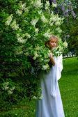 White lady — Stock Photo