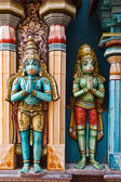 Hanuman statues in Hindu — Stock Photo