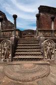 Ancient Vatadage (Buddhist stupa) — Foto Stock