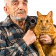 Stock Photo: Elderly man