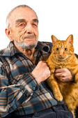 Elderly man — Stock Photo