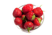 Fresh red ripe strawberries — Stock Photo