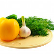Still-life from fresh vegatebles — Stockfoto