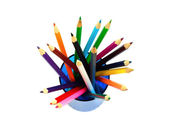 Multicolored pencils — Stock Photo