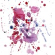 Royalty-Free Stock Photo: Watercolor blob raster 3