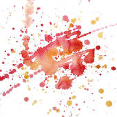 Watercolor blot raster — Stock Photo