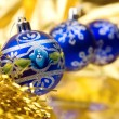 Christmas balls .embellishment cristmas. — Stock Photo