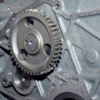 View of gears from old mechanism — Stock Photo #2890038