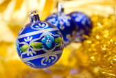 Christmas balls .embellishment cristmas — Stock Photo