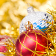Stock Photo: Christmas balls. xmas tree decoration