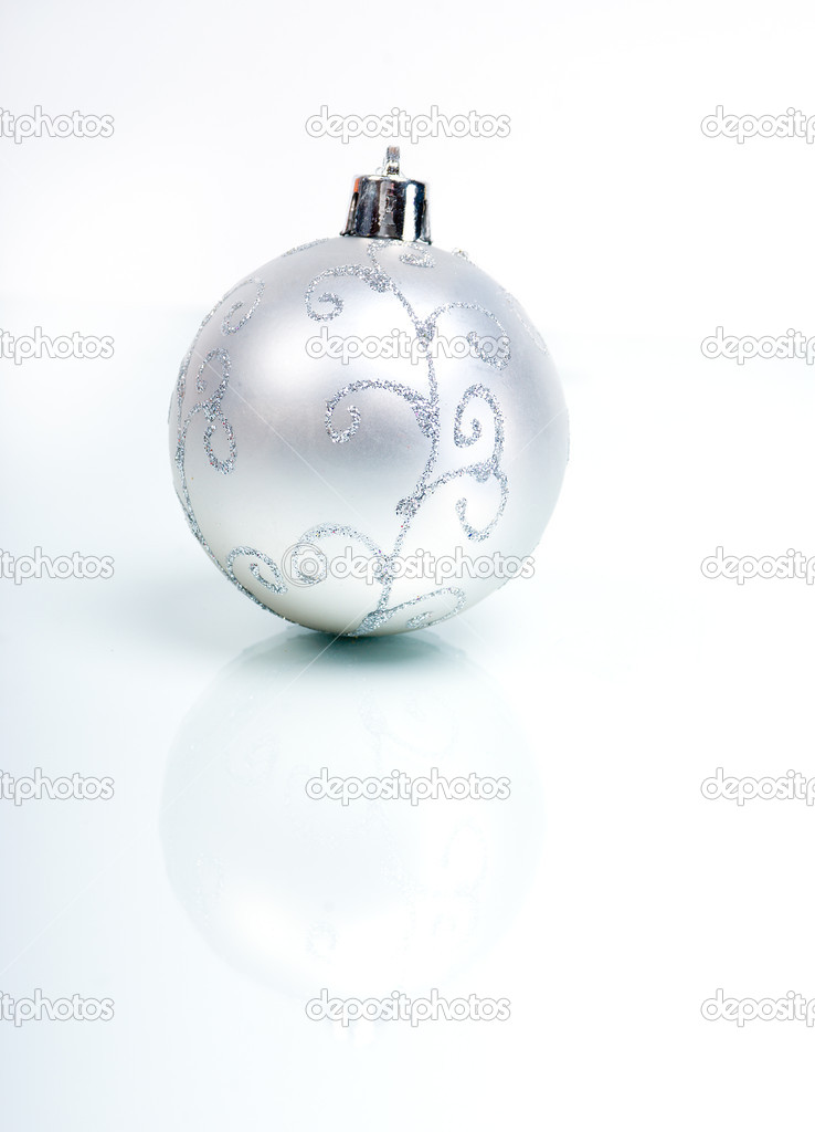 Christmas balls. xmas tree decoration ,bright embellishment   Stock Photo #2924105
