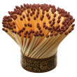 Bouquet of matches — Stock Photo