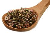 Metal screws — Stock Photo