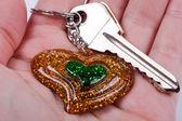 Hus nycklar — Stockfoto