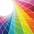 Royalty-Free Stock Vector Image: Rainbow cell horizontal background