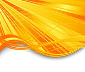 Sunburst ray abstract banner — Stock Vector