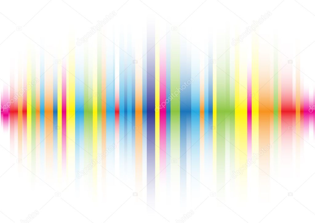 The beautiful gradient color line background — 图库矢量图片 #3476773