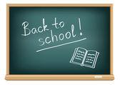 Board back to school — Stock Vector