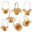 Wicker basket isolated on white — Stock Photo #2937207