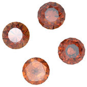 Round rauh topaz — Stock Photo