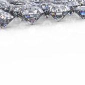 Diamant. fond de bijoux — Photo