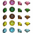 Stock Photo: Collections of gems