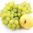 Apple and grapes — Stock Photo #3684456