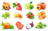Vegetables and fruit — Stock Photo