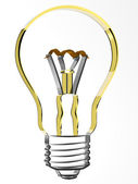 3d lamp — Stock Photo