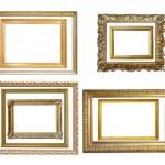 moldura de ouro vintage — Foto Stock