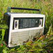 Old  radio receiver — Stockfoto