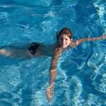 Swimming girl — Stock Photo #2708430