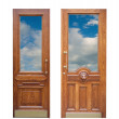 Wooden door — Stock Photo #2708610