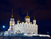 Cathedral of the Assumption in night — Stock Photo