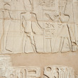 Wall in the Karnak Temple — Stock Photo