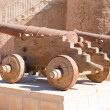 Old cannons in Al-Quseir — Stock Photo