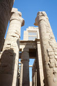 Columns of Karnak Temple at Luxor — Stock Photo