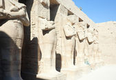 Statues in Karnak temple, Luxor, Egypt — Stock Photo