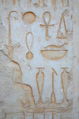 Ornament at the Hatshepsut Temple — Stock Photo