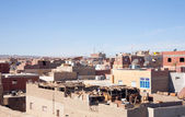 View of ordinary african town — Stock Photo