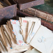 Vintage correspondence - Stock Photo