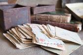 Few vintage letters — Stock Photo