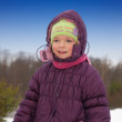 Little girl in winter — Stock Photo #2731405