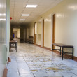 Corridor of hospital — Stock Photo