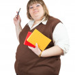Female teacher — Stock Photo