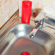 kitchen sink — Stock Photo