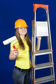 Female house painters — Stock Photo